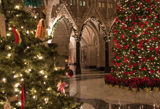 Natale rotunda Fotografia Stock