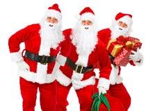 Natale Santa Fotografia Stock Libera da Diritti