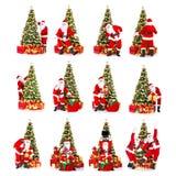 Natale Santa Immagini Stock Libere da Diritti