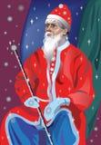 Natale Santa Claus illustrazione di stock
