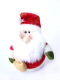 Natale Santa della peluche Fotografie Stock Libere da Diritti