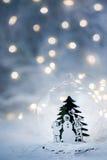 Natale scintillante Fotografia Stock Libera da Diritti