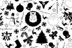 Natale senza cuciture illustrazione vettoriale