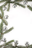 Natale-Sfere Immagini Stock