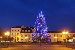 Natale in Tarnobrzeg Immagine Stock