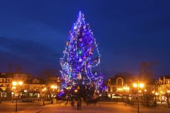 Natale in Tarnobrzeg fotografia stock libera da diritti