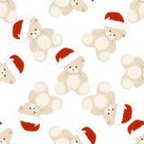 Natale Teddy Bear Immagine Stock