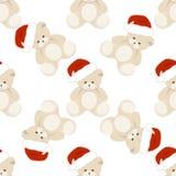 Natale Teddy Bear Fotografie Stock