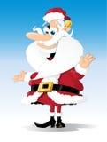 Natale tradizionale Santa Immagini Stock Libere da Diritti