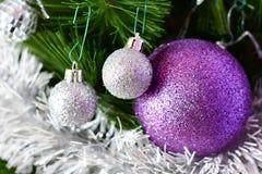 Natale tre fotografia stock libera da diritti