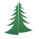 Natale tree#03 di Applique Fotografia Stock