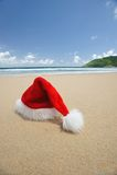 Natale tropicale Fotografie Stock