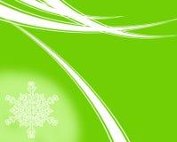 Natale verde Immagini Stock