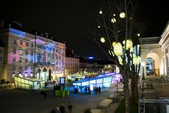 Natale a Vienna immagini stock libere da diritti