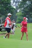 Natalia Gulbis, excursion THAÏLANDE 2010 des PTTs LPGA de Honda Photographie stock libre de droits