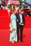 Natalia Bardo at Moscow Film Festival Stock Image