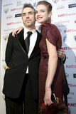 Natalia Vodianova e Direttore Chris Columbus a Fotografia Stock