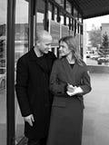 Natalia Vodianova and Justin Portman Royalty Free Stock Photos