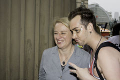 Natalie Bennett Liverpool Pride Royalty Free Stock Images