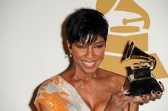 Natalie Cole stockbild