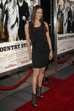 Natalie Faye. LOS ANGELES - DEC 14: Natalie Faye arriving at the 'Country Strong' LA Premiere at Academy of Motion Picture Arts & Sciences on December 14, 2010 stock photo