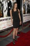 """Natalie Faye que chega do """"na premier forte do LA país"""" Foto de Stock"""
