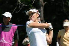 Natalie Gulbis bei Evian erarbeitet Golf 2007 Stockfotografie