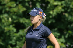 Natalie Gulbis Evian Golf Masters 2006. On putting green portrait Royalty Free Stock Images