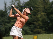 Natalie Gulbis at evian Masters 2007 Royalty Free Stock Images