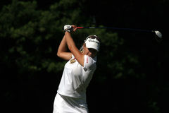 Natalie Gulbis at Evian Masters golf 2007 Stock Image