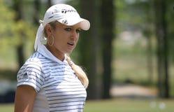 Natalie Gulbis, giro di golf di LPGA, Stockbridge, 2006 Immagine Stock