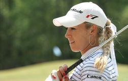 Natalie Gulbis,LPGA golf Tour, Stockbridge, 2006 Royalty Free Stock Image