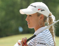 Natalie Gulbis,LPGA golf Tour, Stockbridge, 2006 Royalty Free Stock Images