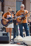 Natalie Maines At Texan Pro-Choice protest Royaltyfria Foton