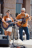 Natalie Maines At Texan Pro-Choice protest Royaltyfria Bilder