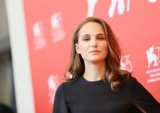 Natalie Portman attends `Vox Lux` Royalty Free Stock Photo