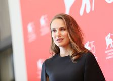 Natalie Portman attends `Vox Lux` Royalty Free Stock Image