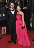Natalie Portman, Benjamin Millepied Stock Photos