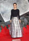 Natalie Portman, de Duisternis Stock Foto's