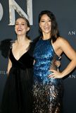 Natalie Portman and Gina Rodriguez Royalty Free Stock Photos
