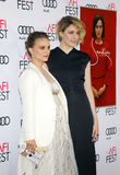 Natalie Portman and Greta Gerwig Royalty Free Stock Photography