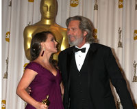 Natalie Portman,Jeff Bridges Stock Photography