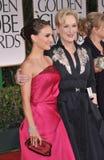 Natalie Portman, Meryl Streep Royalty Free Stock Image