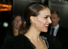 Natalie Portman. At the Los Angeles premiere of `Annihilation` held at the Regency Village Theater in Westwood, USA on February 13, 2018 Stock Images