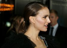 Natalie Portman. At the Los Angeles premiere of `Annihilation` held at the Regency Village Theater in Westwood, USA on February 13, 2018 Stock Photo