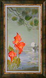 NataljaCernecka. Little Etude in Douarnenez. Oil painting on canvas. Royalty Free Stock Photos