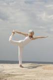 Nataraja-asana. Meaning Lord or Dance Stock Photography