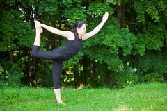 Nataraja-Asana Lizenzfreies Stockfoto