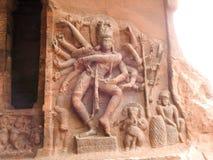 Nataraja, das Shiva tanzt Stockfotografie