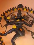 Nataraja with marigolds Royalty Free Stock Image